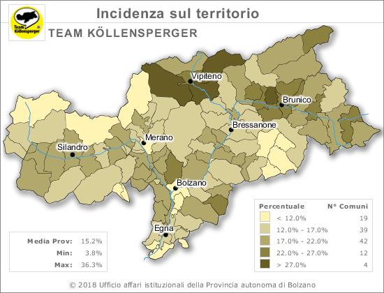 Cartina Italia Javascript.Elezioni Provinciali 2018 Provincia Autonoma Di Bolzano